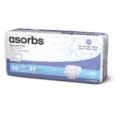 Asorbs® Briefs (one case of 96 MD)  Medline