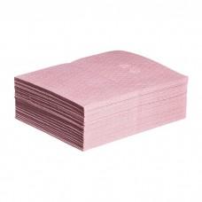 "HAZMAT pad, ABSORBENT, HVY WT, 15""X20"",PINK NPGMAT310, (Bag of 50 pads)"