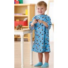 Disney Pediatric IV Gowns-GOWN, IV, PEDIATRIC, MICKEY, TODDLER, LT. BLU (One dozen)