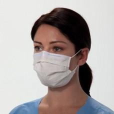 Kimberly-Clark MASK,PROCEDURE,PLEATED,EARLOOPS,WHITE, 50 masks per Box