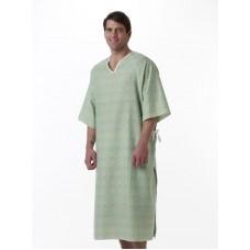 Patient Gown Healing Colors MDTPG5RTSCHA, TIESIDE, CHARISMA PRINT (Case of 12)