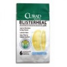 CURAD Blister Heal Hydrocolloid Bandages, Case of 10