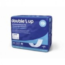 Medline Double-Up Incontinence Liners, 24 Count (Pack of 8)