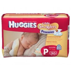 Preemie Micro Diapers by Kimberly-Clark, Case of 240