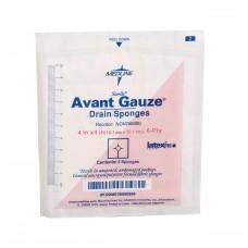 """Avant Gauze Sterile Drain Sponge NON256000, 4""""X4"""",6PLY, STRL, 2'S (Case of 600)"""
