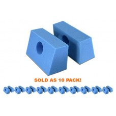 Iron Duck Disposable Adult Foam Head Blocks   35979