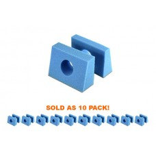 Iron Duck Disposable Pedi Foam Head Blocks | 35845