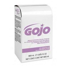 GOJO CREAM,HAND,MOISTURIZING,BAG,800 ML (One case of 12 units)