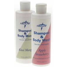 Medline Fragranced Shampoo & Body Wash KIWI MANGO, 8OZ, MEDLINE, Case of 48