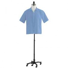 Medline, Unisex Zip Front Smock