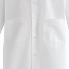 Medline Unisex/Men's SilverTouch Staff Length Labcoat