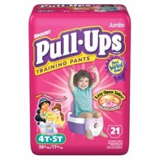 Training Pants by Kimberly-Clark,  PULL-UPs, GIRL, 3T-4T, JUMB PK (one pack of 23 pants)