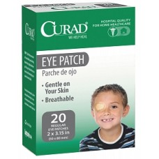 "Eye Patch 2.25""X3.15"",NS, 20/BX Case of 24 by CURAD"